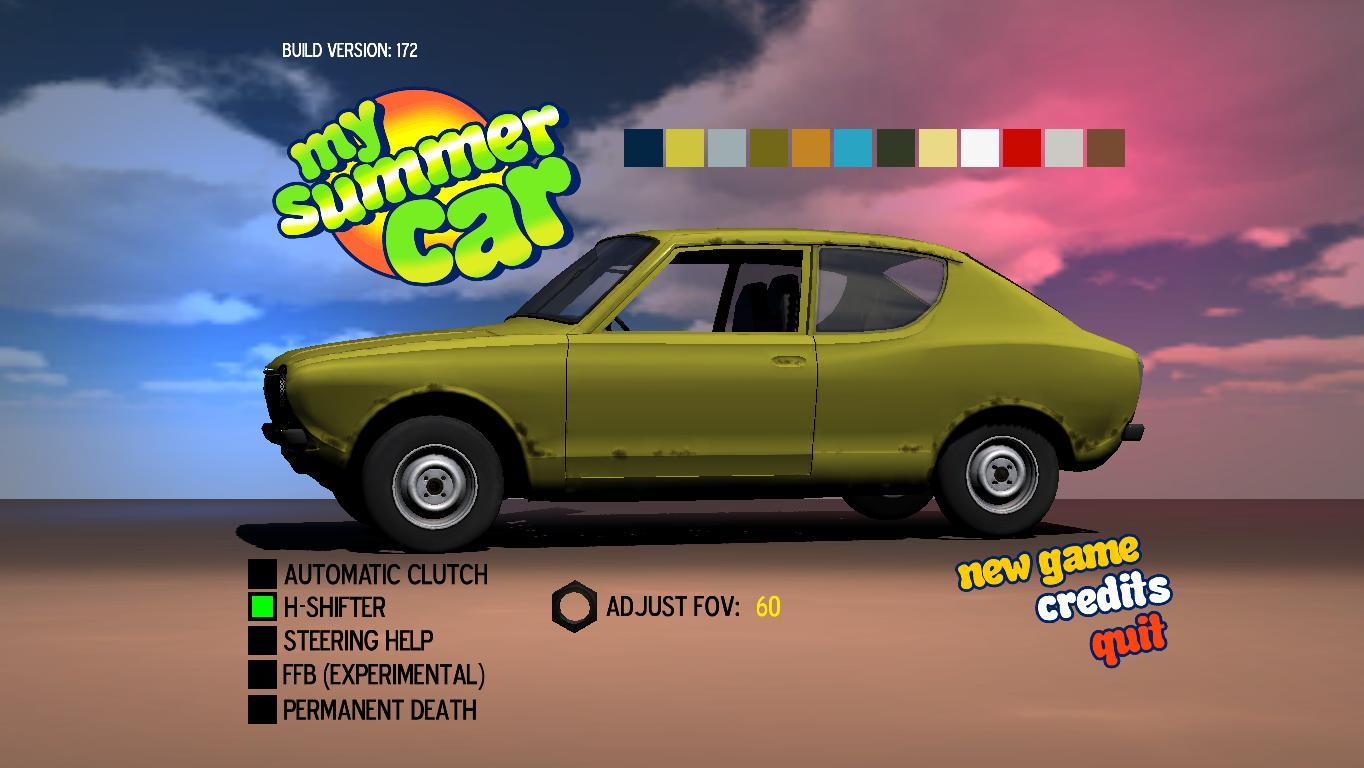 Как сделать сохранение в my summer car